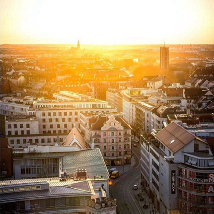 Munich_sunset_